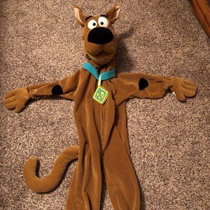 Scooby Doo Hooded Jumpsuit Costume Toddler 2T (Rub